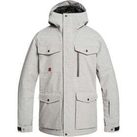 Quiksilver Raft Jas Heren, light grey heather